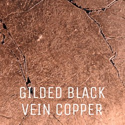 Gilded Black Vein Copper